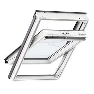 Okno dachowe VELUX górne otwieranie - drewniano-poliuretanowe