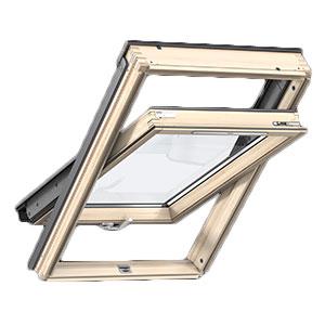 Okno dachowe VELUX dolne otwieranie - drewniane