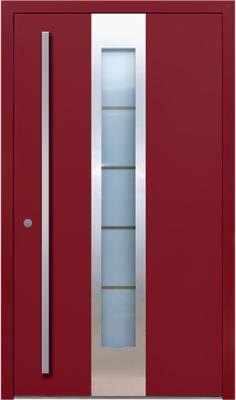 Drzwi zewnętrzne drewniane, PCV, aluminiowe.