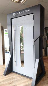 Nowoczesny Dom Elżbieta Gramowska Chodzież Ujska 1 - drzwi zewnętrzne Martom