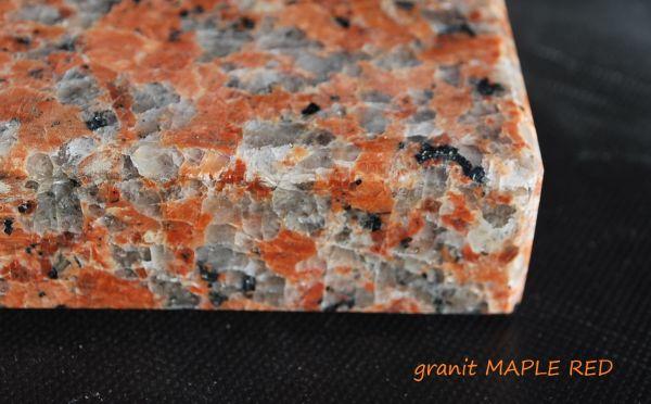 Parapety zewnętrzne granitowe