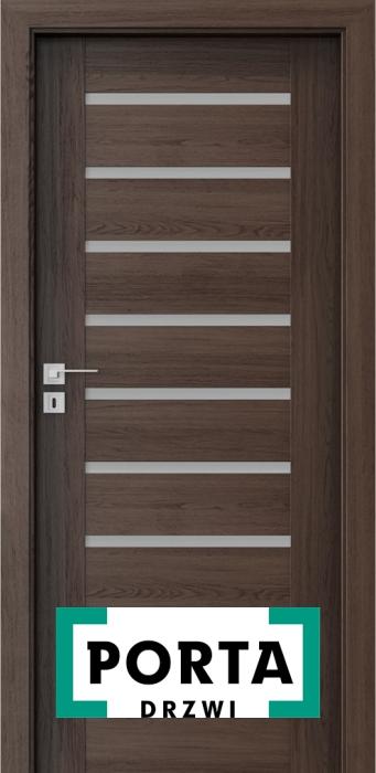 Drzwi wewnętrzne PORTA - drzwi wewnętrzne nowoczesne, klasyczne, z przeszkleniem. Wykończenie drzwi wewnętrznych w okleinie naturalnej, syntetycznej, lakierowane.