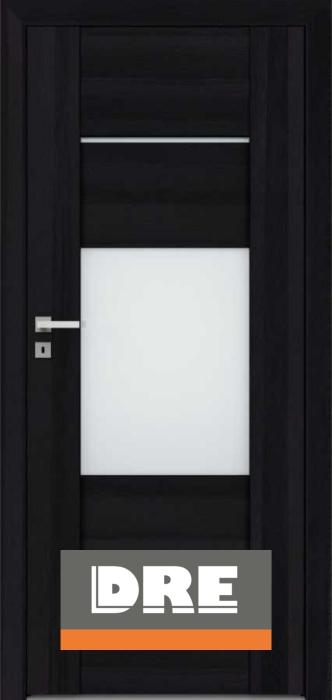 Drzwi wewnętrzne DRE - wykończenia matowe, z połyskiem, przeszklenia.