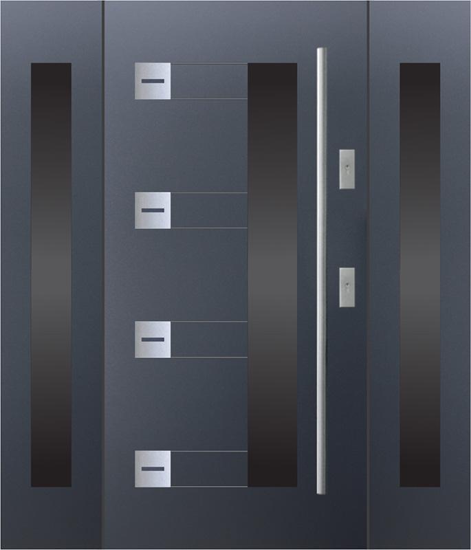 Drzwi wejściowe KMT plus z dostawkami