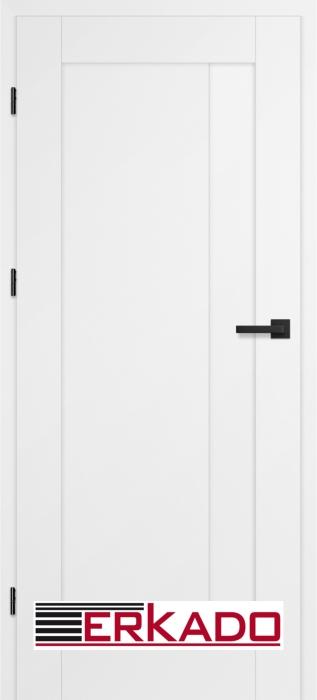 Drzwi wewnętrzne ERKADO - wykończenie w wysokiej jakości okleinie lub lakierowane.