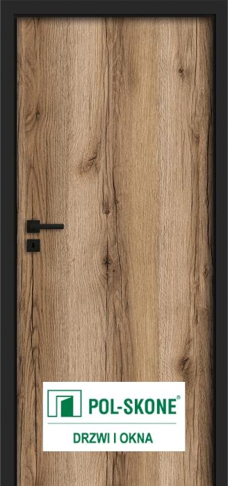 Drzwi wewnętrzne POL-SKONE - malowane, okleinowane, laminowane i fornirowane. Drzwi wewnętrzne bezprzylgowe i przylgowe.