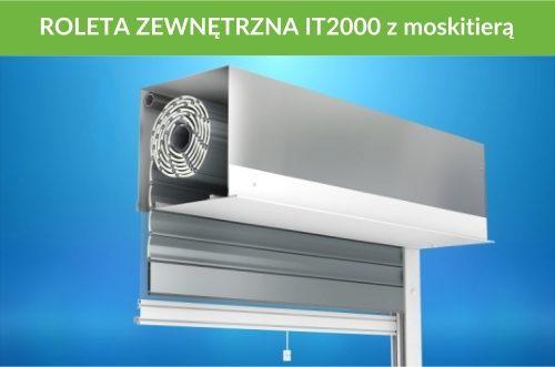 Roleta zewnętrzna IT2000 moskitiera