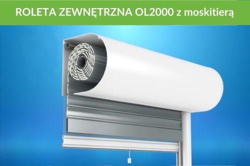 Roleta zewnętrzna OL2000 moskitiera
