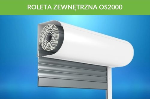 Roleta zewnętrzna OS2000