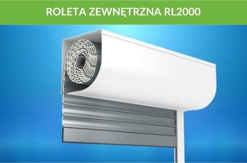 Roleta zewnętrzna RL2000