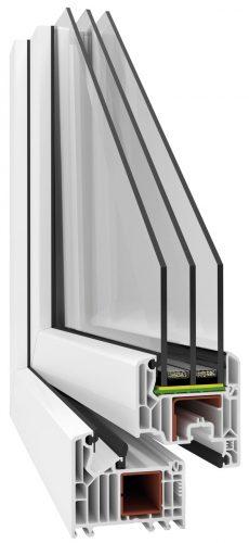 Okna PCV w systemie VEKA