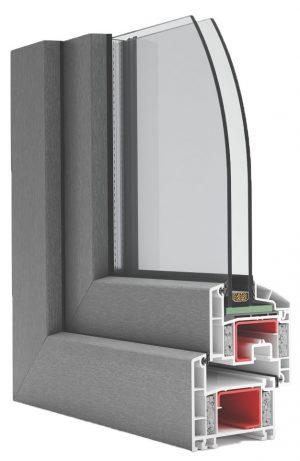 Okno PCV na profilu ENCORE