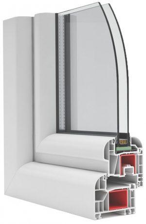 Okno PCV na profilu OVLO